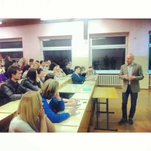 Александр Степановский на AlterEDU, 10.10.2013