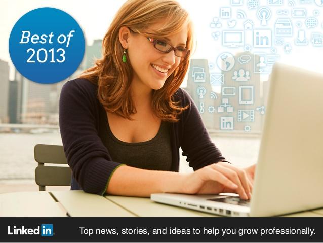 Лучшие публикации на LinkedIn за 2013 год для студентов, молодых специалистов